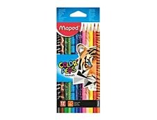 Maped Color'Peps Animals - 12 Crayons de couleur