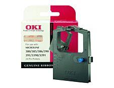 OKI 9002309 - noir - ruban d'impression original