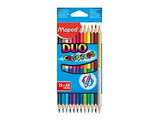 Maped Color'Peps Duo - 12 Crayons de couleur
