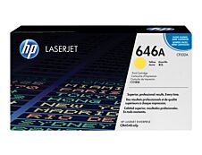 HP 646A - jaune - cartouche laser d'origine