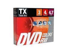 Think Extra - 3 DVD-RW avec boîtiers - 4.7 Go