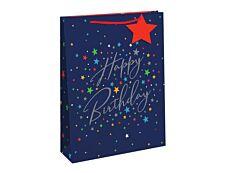 Clairefontaine Eurowrap - Sac cadeau - 21,5 cm x 10,2 cm x 25,3 cm - birthday