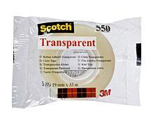 Scotch - Ruban adhésif - 19 mm x 33 m - transparent