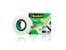 Scotch Magic - Ruban adhésif - 19mm x 33 m - invisible