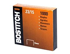 Bostitch - Boîte de 1000 Agrafes 23/15 - jusqu'à 110 feuilles