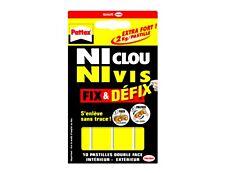 Pattex NI CLOU NI VIS - 10 pastilles adhésives - blanches
