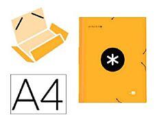 Antartik - Chemise à rabats - A4 - orange fluo