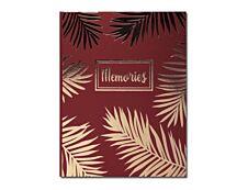 Exacompta Palma - Livre d'or 27 x 22 cm - 100 pages - rouge