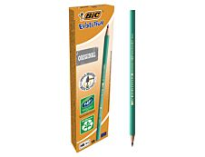BIC ECOlutions EVOLUTION 650 - Pack de 12 - Crayons à papier - HB
