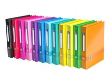 Oxford Color Life  - Classeur à anneaux - Dos 40 mm - A4 - pour 225 feuilles - disponible dans différentes couleurs