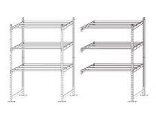 Paperflow Rang'Eco - Rack à étagère - élément de départ - 100 x 200 x 68 cm