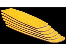 JPC - 6 Recharges de brosse pour tableau blanc - pack de 6
