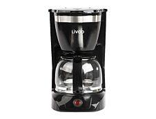 Livoo - Cafetière électrique - 10-12 tasses - noir