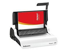 Fellowes Pulsar +300 - machine à relier / relieuse perforeuse manuelle - Perfore 20 feuilles - relie 300f