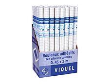 Viquel - Couverture de livre - Rouleau de 45 cm x 2 m - adhésif incolore