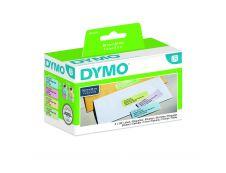Dymo LabelWriter  - Ruban d'étiquettes auto-adhésives - 4 rouleaux de 130 étiquettes (28 x 89 mm) - fond bleu, fond rose, fond jaune et fond vert écriture noire