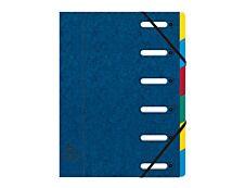 Exacompta Harmonika - Trieur à fenêtres 6 positions - bleu