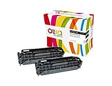 Owa K35132OW cartouche équivalente HP 304A - pack de 2 - noir
