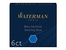 Waterman - 6 cartouches d'encre pour stylo plume - bleu