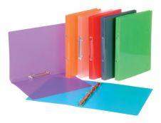 Viquel Propyglass - Classeur à anneaux - Dos 25 mm - A4 - disponible dans différentes couleurs