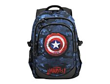 Captain America Supreme Running - Sac à dos 44 cm - 3 compartiments - Karactermania