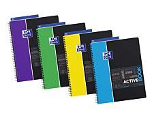 Oxford Etudiants - Cahier Activebook A4+ (24 x 29,7 cm) - 160 pages - petits carreaux - double spirale - disponible dans différentes couleurs