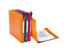 Oxford School Life Class'up - Classeur à anneaux - Dos 20 mm - A4 Maxi  - pour 100 feuilles - 4 anneaux automatiques - disponible dans différentes couleurs