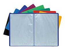 Exacompta - Porte vues - 40 vues - A4 - disponible dans différentes couleurs