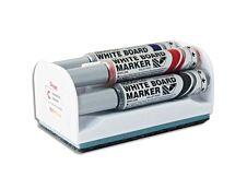 Pentel MAXIFLO - Brosse magnétique et 4 Marqueurs MAXIFLO - pointe ogive moyenne - couleurs assorties