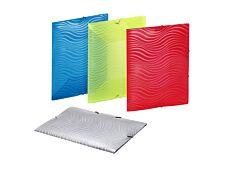 Viquel Wave - Chemise polypro à rabats - 23 x 32 cm - disponible dans différentes couleurs