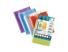 Oxford Polyvision - Porte vues personnalisable - 120 vues - A4 - disponible dans différentes couleurs opaques