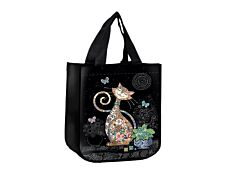 Kiub Bug Art - Sac cabas - Chat et papillons