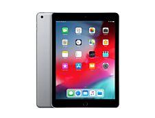 """Apple iPad 6 - tablette 2018 reconditionnée grade B - 128 Go - 9,7"""" - Wifi - gris coque noir"""