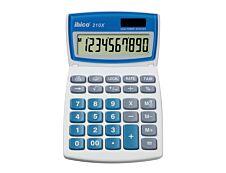 Calculatrice de bureau Ibico 210X - 10 chiffres - alimentation batterie et solaire