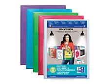 Oxford Polyvision - Porte vues personnalisable - 120 vues A4 - disponible dans différentes couleurs translucides