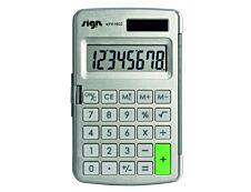 Calculatrice de poche Sign KF01602 - 8 chiffres - alimentation batterie et solaire