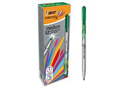 BIC Intensity - Pack de 12 - feutres fins - pointe moyenne - violet