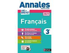 Annales Brevet 2021 Français - Corrigé