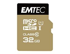 Emtec Elite Gold - carte mémoire 32 Go - Class 10 - micro SDHC