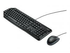 Logitech Desktop MK120 - ensemble clavier et souris filaire Azerty