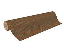 Clairefontaine - Papier cadeau kraft - 70 cm x 50 m - motif flocons