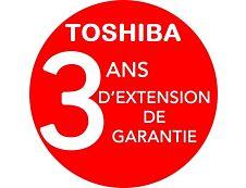 Toshiba On-Site Repair Gold - contrat de maintenance prolongé - 3 années - sur site
