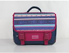 Offshore - Cartable 39,5 cm - 2 compartiments - rose et bleu - Bagtrotter