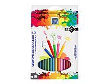 Wonday - 18 Crayons de couleur