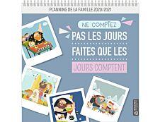 Bouchut Famille - Calendrier illustré mensuel - 30 x 30 cm