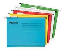Eseelte Pendaflex - 5 Dossiers suspendus pour tiroirs - coloris assortis - fond V