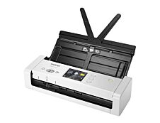Brother ADS-1700W - scanner de documents A4 - portable - USB 3.0, Wifi, USB 2.0 - 1200 ppp x 1200 ppp - 25ppm