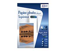 Avery - Papier Photo brillant - 10 x 15 cm - 200 g/m² - impression jet d'encre - 60 feuilles
