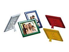 Promocome Ecoframe - Cadre porte-affiche clippant à poser ou à fixer au mur - A4 - rouge
