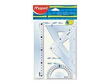 Maped  Kit de traçage 4 pièces 20 cm